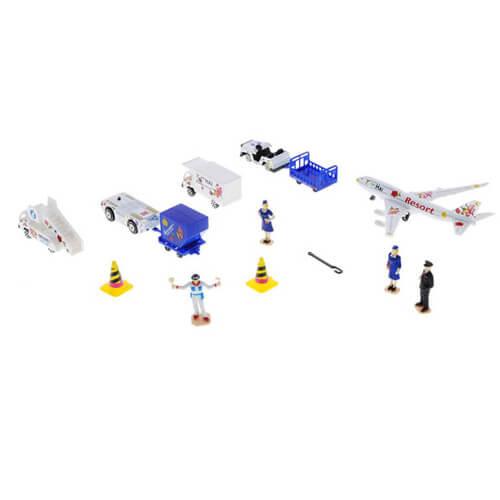 Игровой набор Аэропорт. Металл. 13 предметов