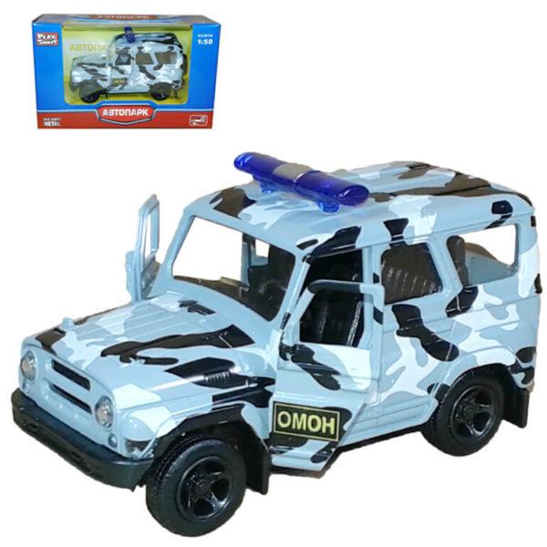 Модель автомобиля UAZ Hunter – Омон.