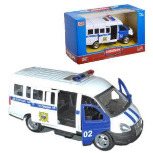 """Масштабная модель автомобиля Газ-3221 """"Полиция"""""""
