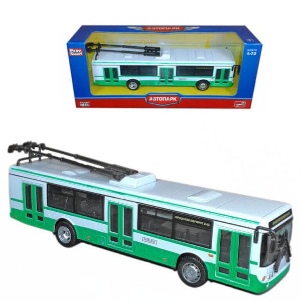"Масштабная модель троллейбуса ""ЛИАЗ 5292"""