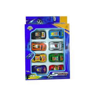 Игровой набор машинок 8 шт.