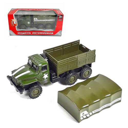 Модель военного грузовика.