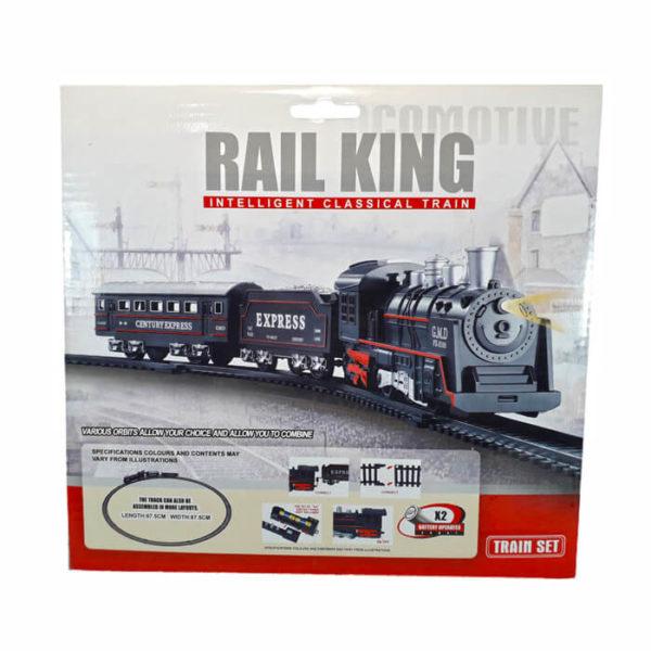 Железная дорога Rail King (свет,звук)