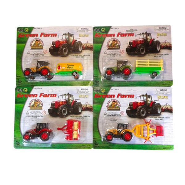 Трактор с прицепом