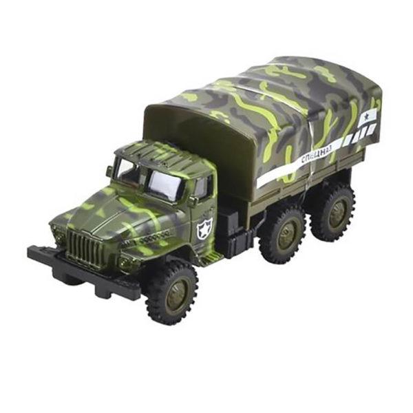 Модель военного грузовика