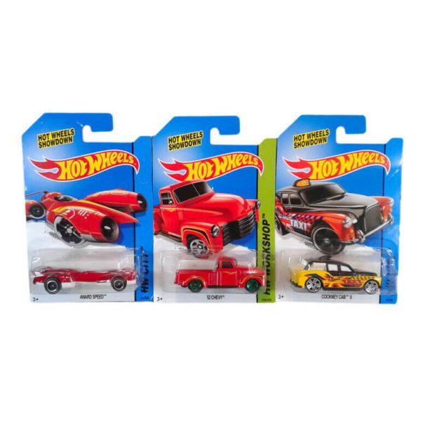Машинки металлические Hot Wheels