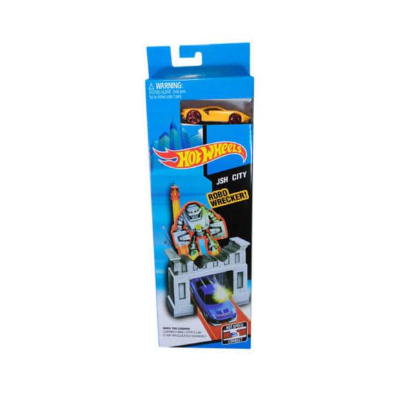 Трасса Hot Wheels Robo wrecker