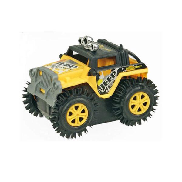 Машинка-перевертыш на батарейках Jeep