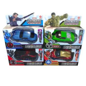 Машинки-трансформер «Герои Мстители»