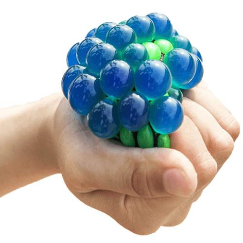 Мяч антистресс лизун в сетке