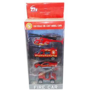Набор машинок FIRE CAR 1:64 металл