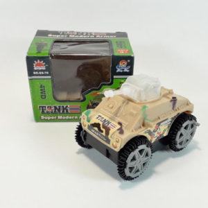 Игрушечный танк-перевертыш