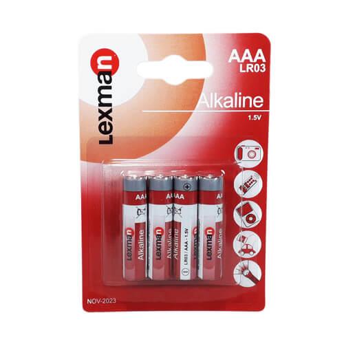 Батарейка Alkaline «Lexman» AAA LR03