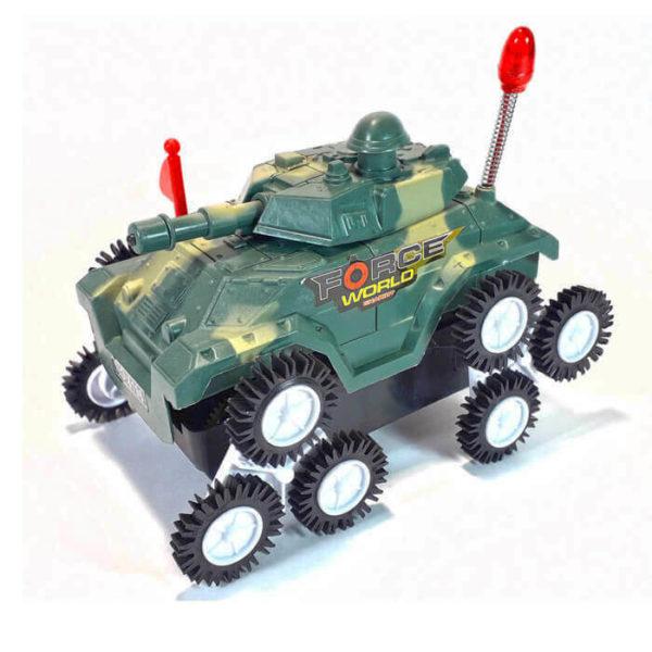 Перевертыш танк на батарейках (свет)