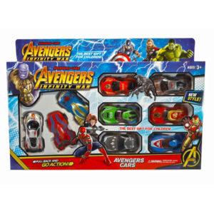 Набор машинок Avengers