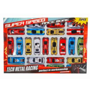 Игровой набор машинок 25шт