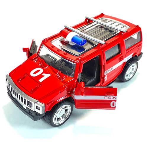 Металлическая модель автомобиля Hummer H2