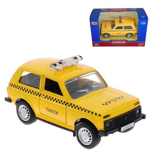 """Модель автомобиля """"LADA 21213 4х4"""" Такси"""