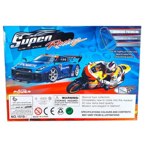 "Набор машин 'Супер гонщик"" 10шт"