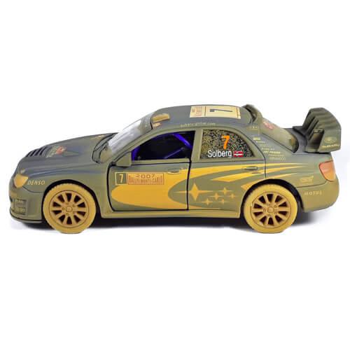 Модель автомобиля Subaru Impreza WRC 2007 (Muddy)