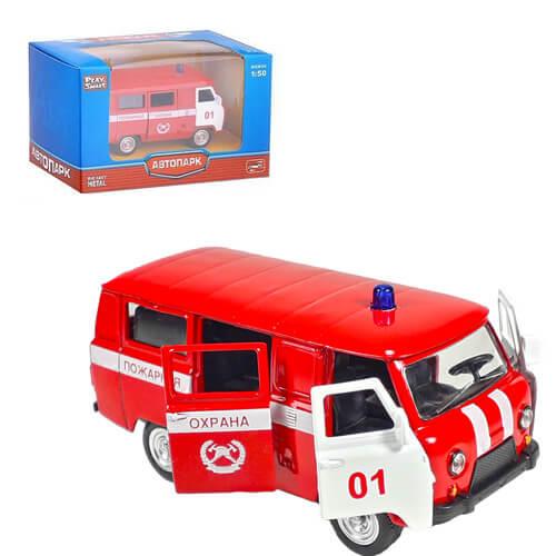 """Модель автомобиля """" УАЗ 39625"""" — Пожарная охрана"""