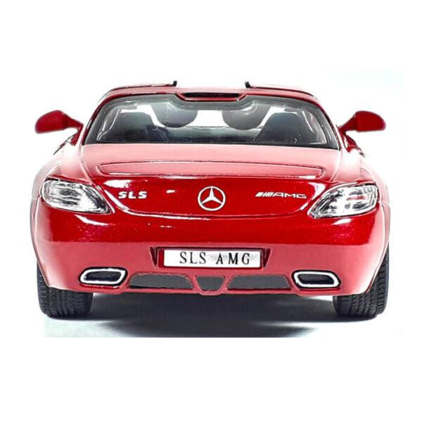 Модель автомобиля Mercedes-Benz SLS AMG
