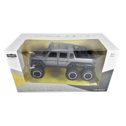 Машина Mercedes -G63 6х6 металл, свет звук